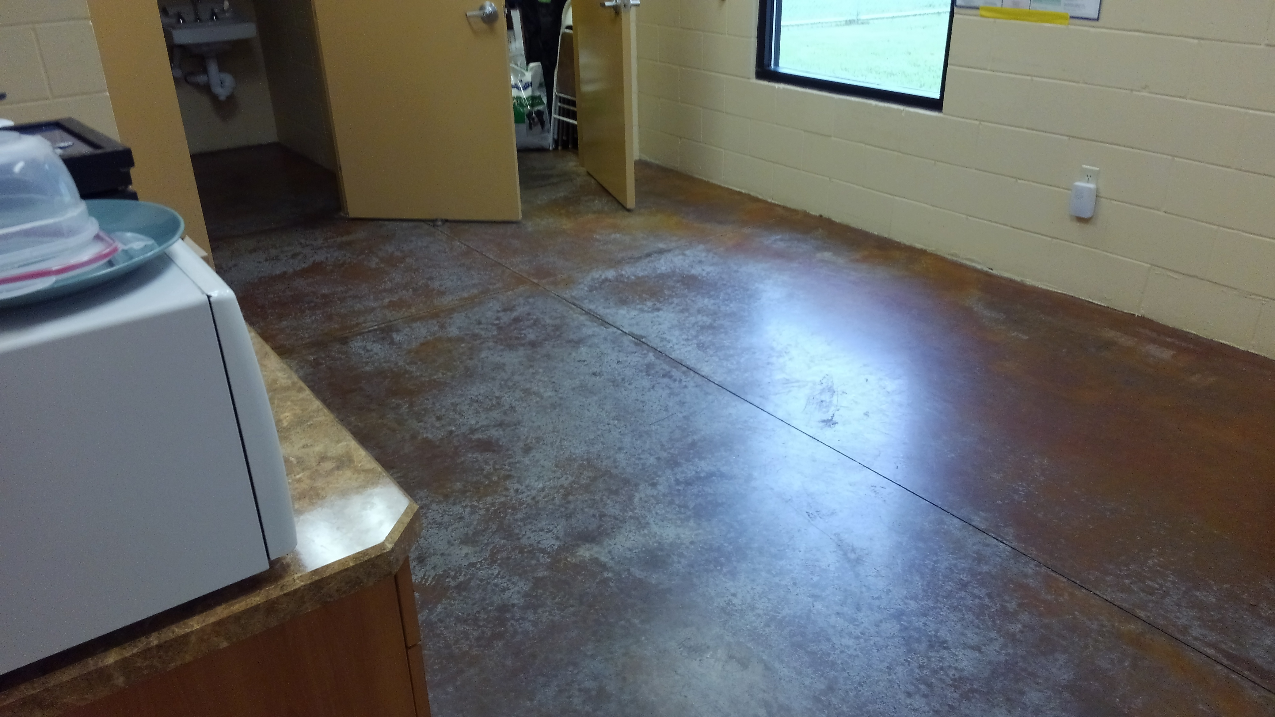 Ocala concrete polishing services for Cleaning polished concrete